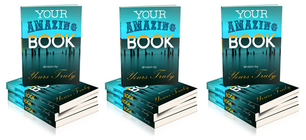 How To Make A Book Cover Look D In Photo : Photoshop generated d book covers for promotion and