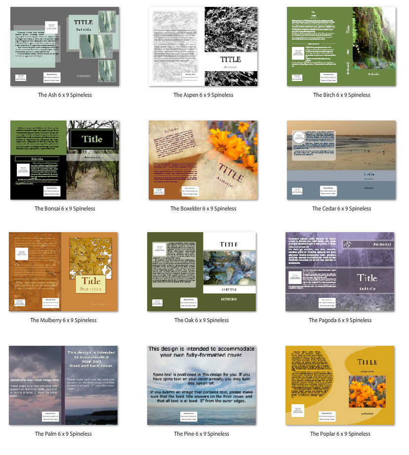 Free Createspace Book Covers: Using the CS Cover Generator ...