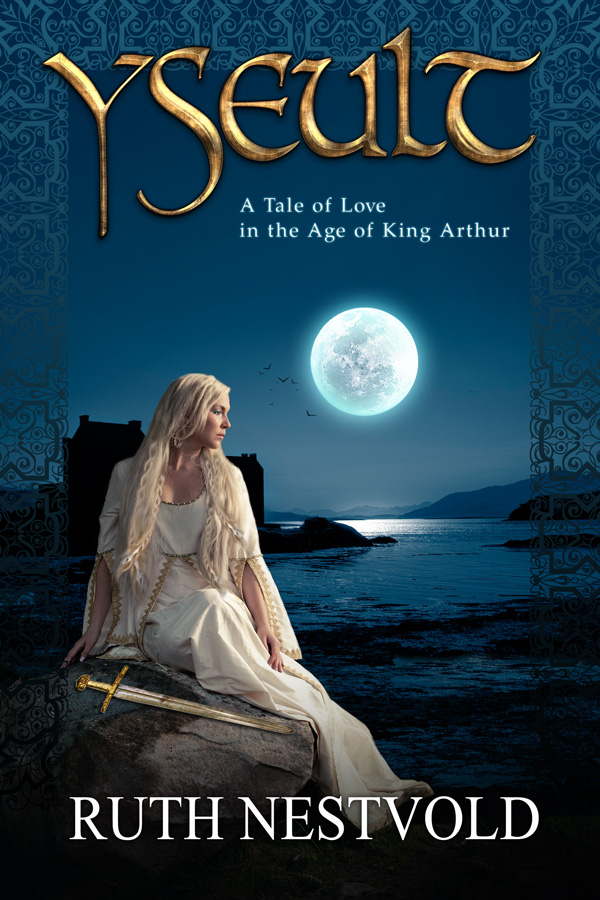 Book Cover Fantasy ~ Yseult romance fantasy book cover design creativindie