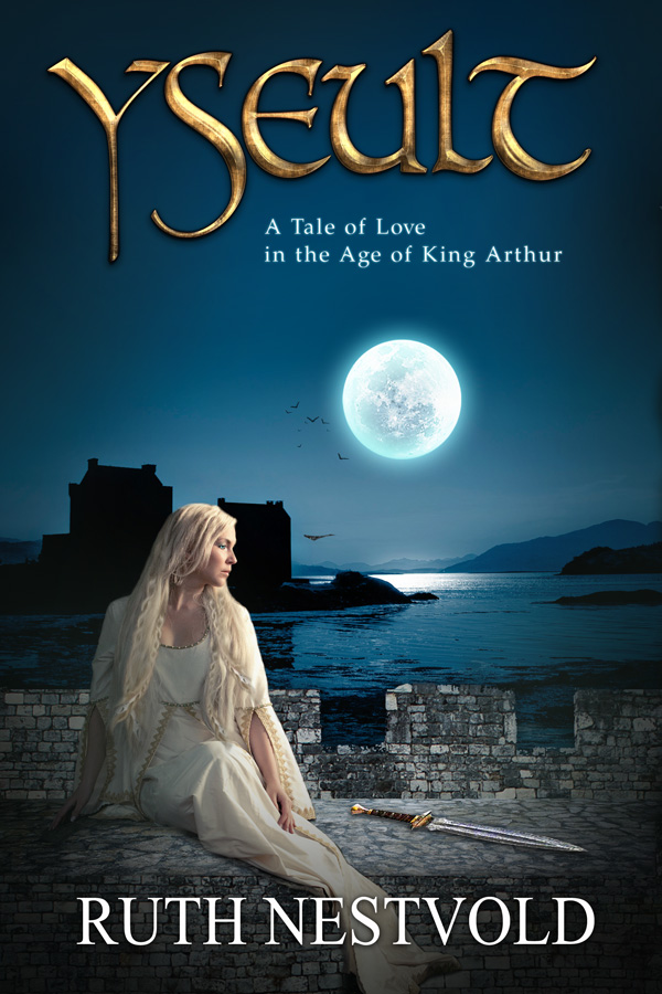 Book Coverage : Yseult romance fantasy book cover design creativindie