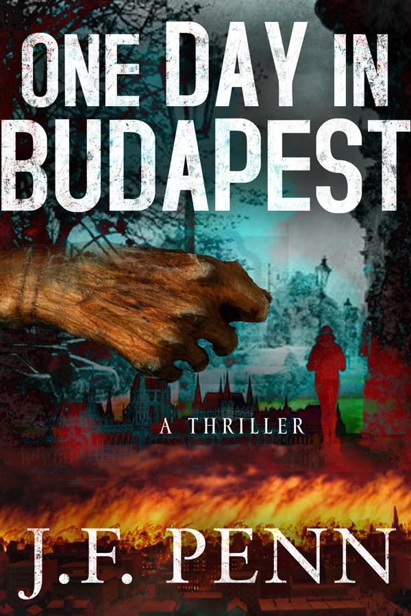 new thriller book cover design for joanna penn